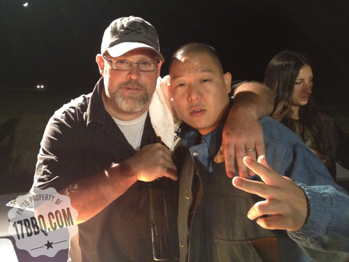 Eddie Huang and Pat Martin