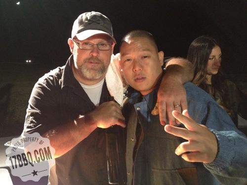 Eddie Huang and Pat Martin