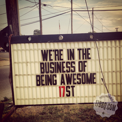 We're in the Business of Being Awesome #17St