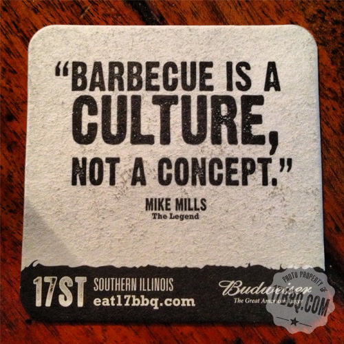 Barbecue is a Culture, Not a Concept