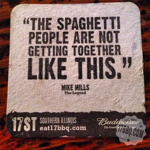 The Spaghetti People Are Not Getting Together LIke This