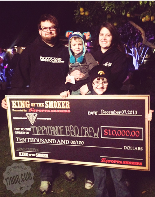 Tippecanoe BBQ Crew Wins King of the Smoker
