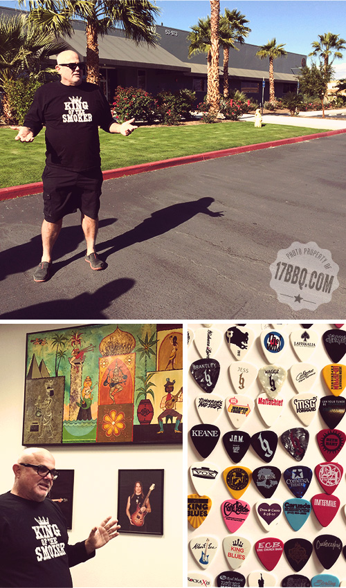Sterling Ball gives an Ernie Ball factory tour