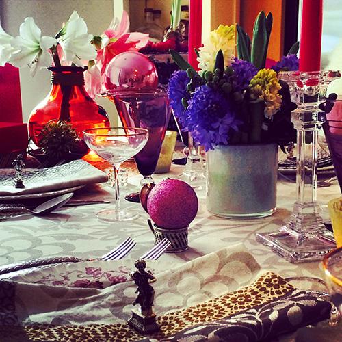 Valentine's Day table via 17bbq.com #17ST