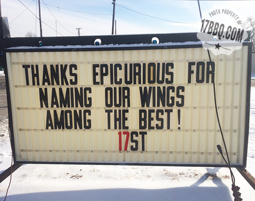 ##17ST Best Wings in America
