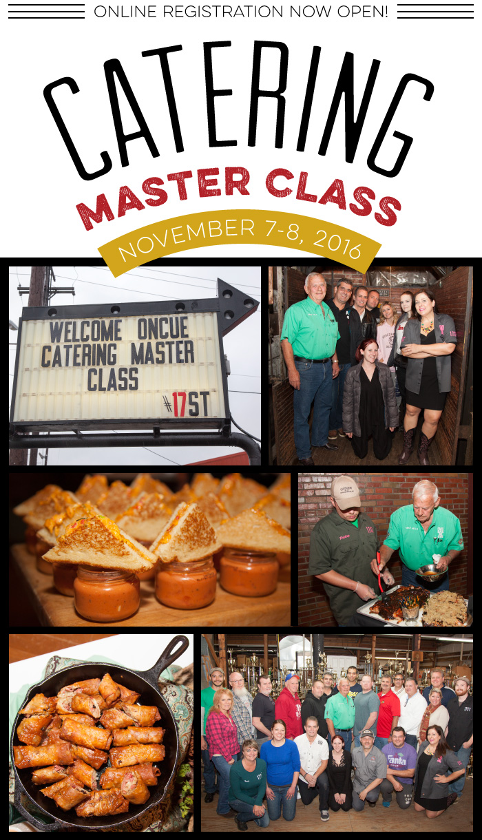 Catering Master Class