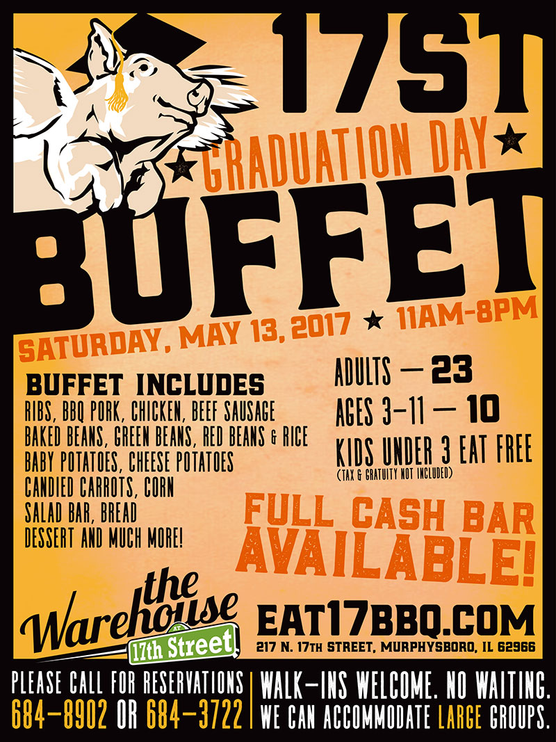 17ST Graduation Day Buffet