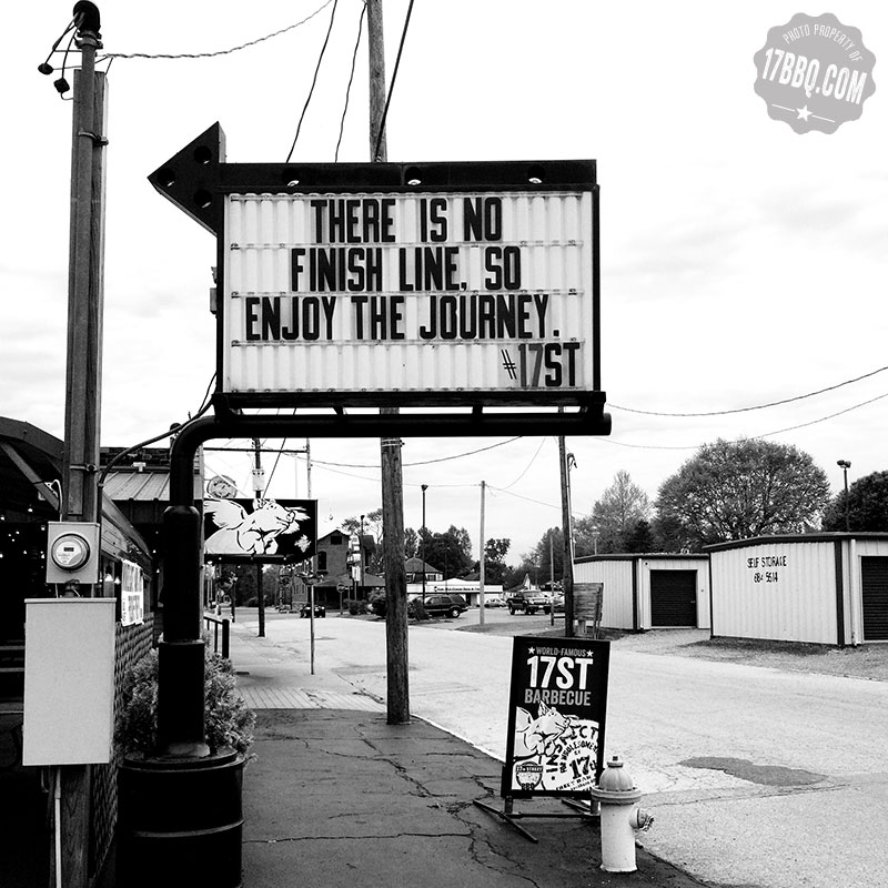 There is No Finish Line, So Enjoy the Journey