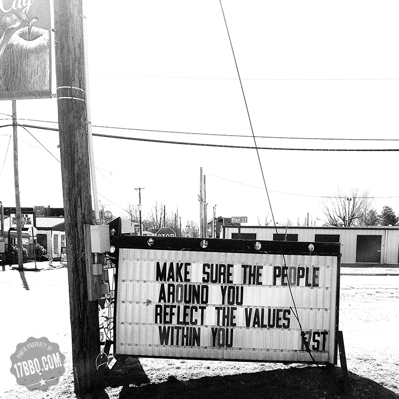 Make Sure the People Around You Reflect the Values Within You.