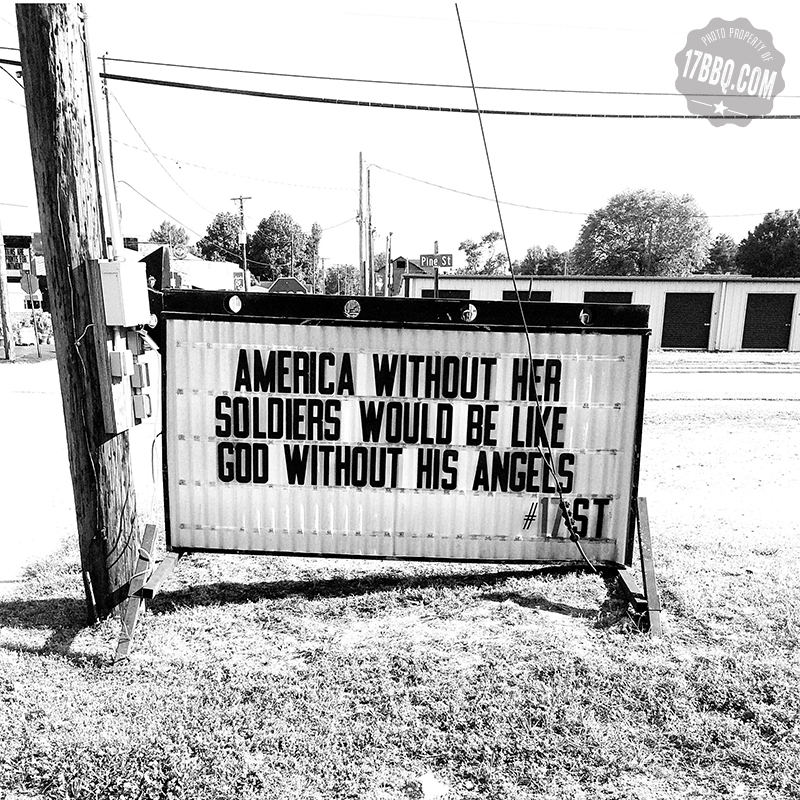 America Without Her Soldiers Would Be Like God Without His Angels.