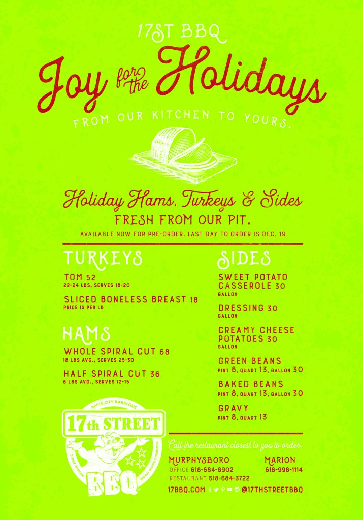Order Holiday Hams, Turkeys & Sides
