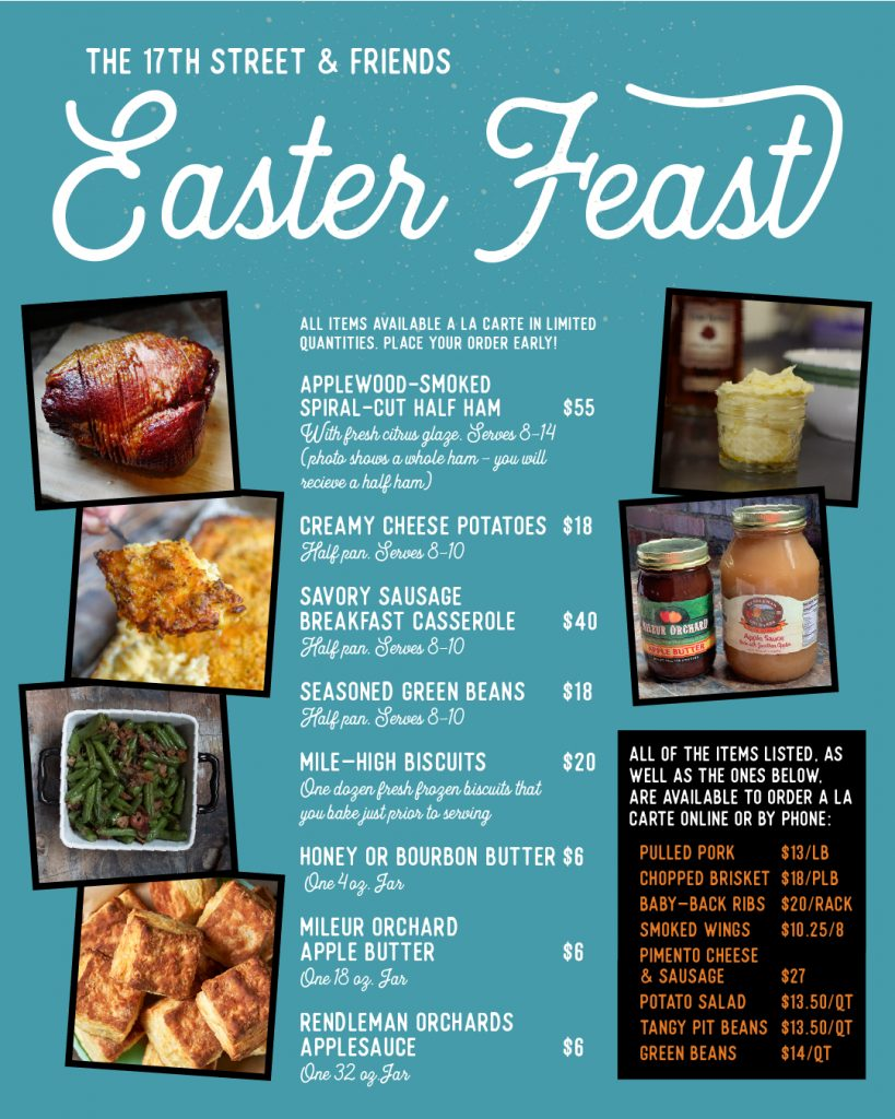 17St & Friends Easter Feast