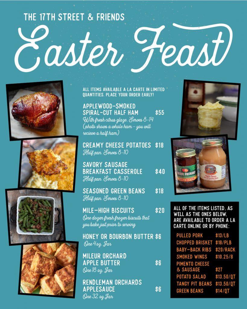 17St & Friends Easter Feast